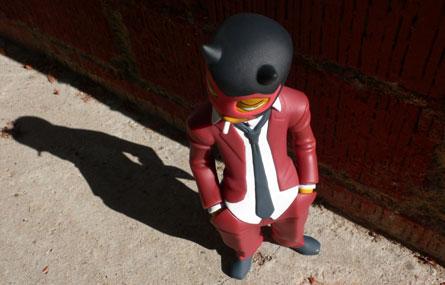 Muttpop Red Demon Vinyl Figure Original Color