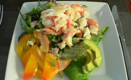 shrimp & crab salad