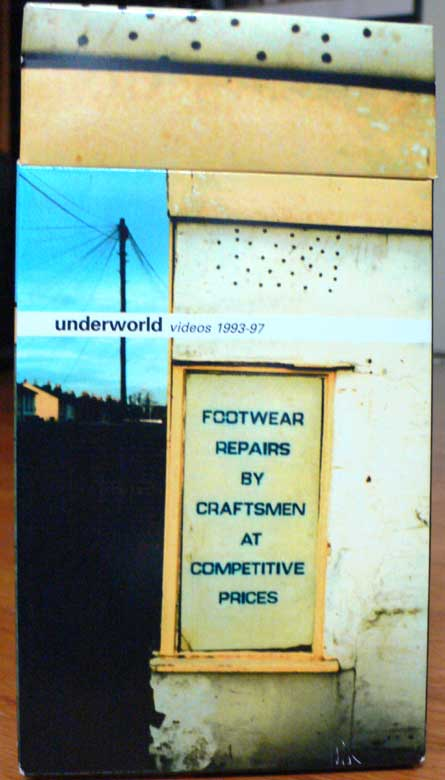 Underworld, Footwear Repairs By Craftsmen At Competitive Prices VHS