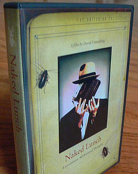 Naked Lunch Criterion DVD