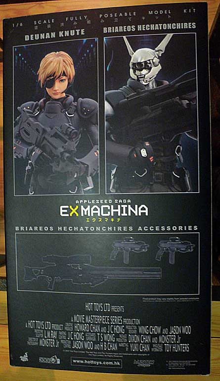Appleseed Briareos Hecatonchires 1/6 scale Ex Machina