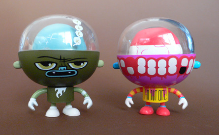 Mini Rolitoboys French Kiss Serie by Rolitoland, Yuck and La Chiene