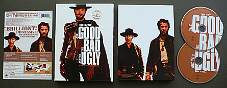 Sergio Leone's The Good, The Bad and The Ugly DVD