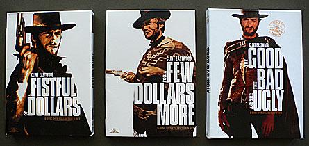 Sergio Leone's Dollars trilogy DVD
