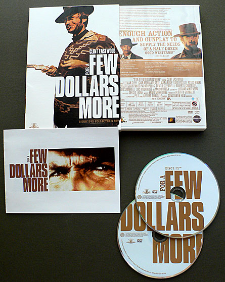 Sergio Leone's For a Few Dollars More DVD