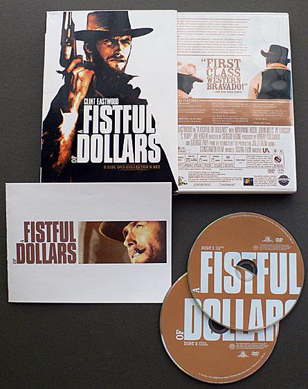 Sergio Leone's Fistfull of Dollars DVD