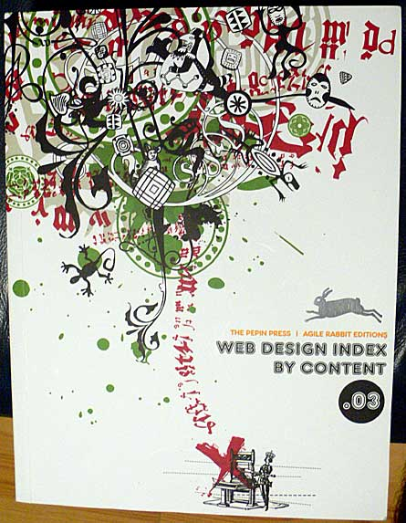 Web Design Index by Content, published by The Pepin Press / Agile Rabbit Editions