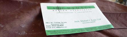 archidecs business card