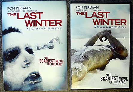 The Last Winter DVD, directed by Larry Fessenden