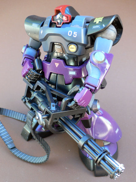 Gundam Master Grade Rick Dom painted MS-09