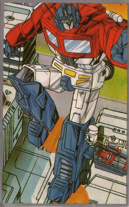 japanese transformers stickers, optimus prime