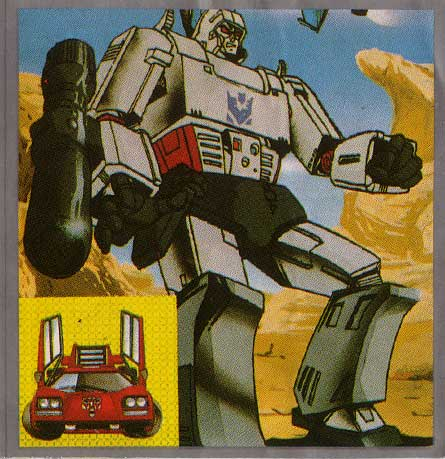 japanese transformers stickers, Megatron