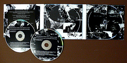 Underworld Live at Brixton Academy, London England 10/31/08, design by John Warwicker Tomato