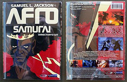 Afro Samurai Director's Cut DVD