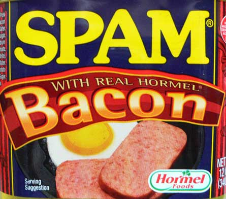 Spam With Bacon, by Hormel