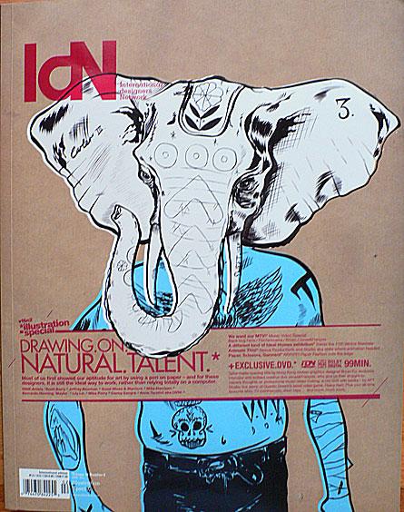 international designers network magazine, idn volume 16 no. 2 cover