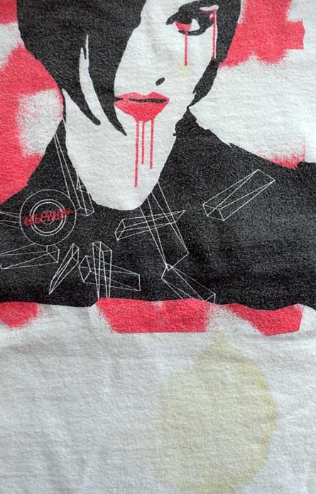 david j. weissberg t-shirt illustration xlr8r limited numbered edition