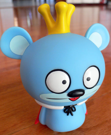 Bossy Bear 2009 Tongue Out Variant by David Horvath and Toy2r