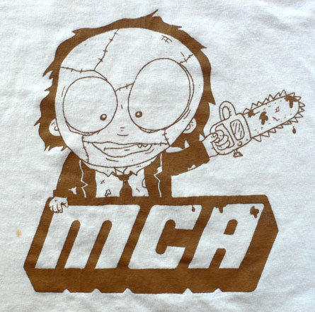 Chainsaw Massacre t-shirt by MCA of evildesign