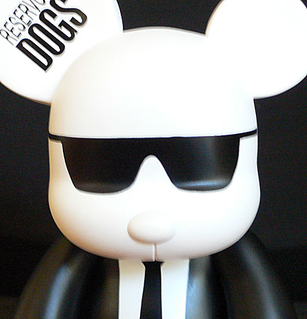 Mr. Black Reservoir Dogs Qee, 8 Inch Edition by Toy2r x Lionsgate