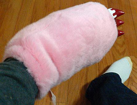Gloomy Bear Plush Glove/Pillow