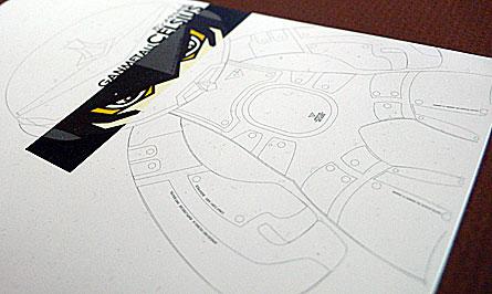 Rotobox Vinyl Anatomica Design Studio: Ganmetall Transition Celsius, Pearlescent Edition. produced by Kuso Vinyl