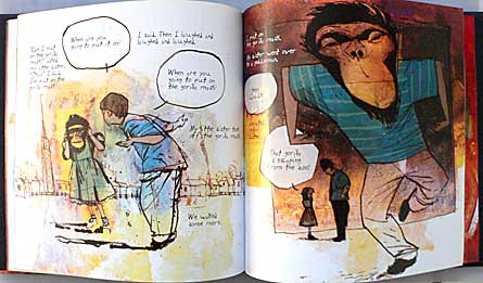 The Day I Swapped My Dad For Two Goldfish by Neil Gaiman and Dave McKean.